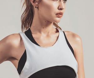 pretty, top model, and sport bra image