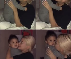 kylie jenner and baby stormi image