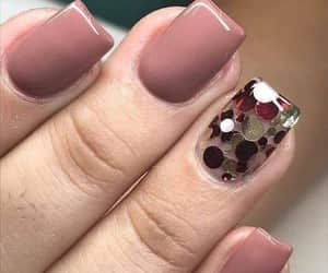 confeti, manicure, and nails image