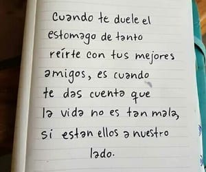 frases, amistad, and amigos image