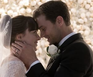 fifty shades freed, movie, and dakota johnson image