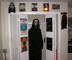grunge, scary, and scream image