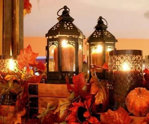 autumn and candle image
