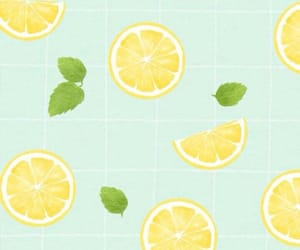 background, green, and lemonade image