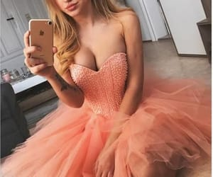 prom dresses pink, homecoming dress short, and prom dresses a-line image