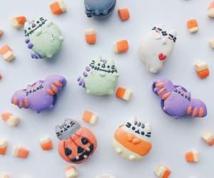 cat, Cookies, and Halloween image