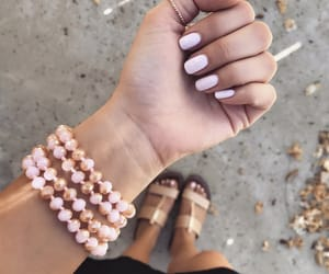 bracelets, jewerly, and nails image
