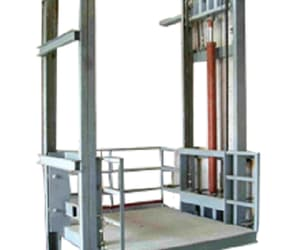 goods lift, scissor lift table, and hydraulic goods lift image