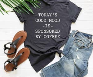 coffee, etsy, and funny shirt image
