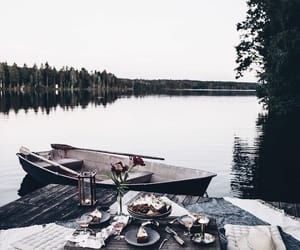 boat, date, and food image