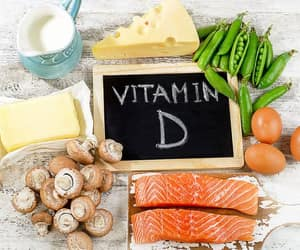 vitamin d and vitamin d foods image