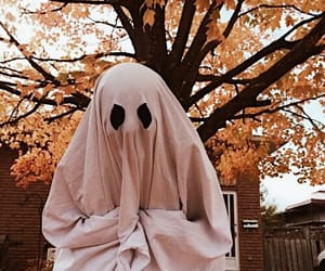 ghost, Halloween, and autumn image
