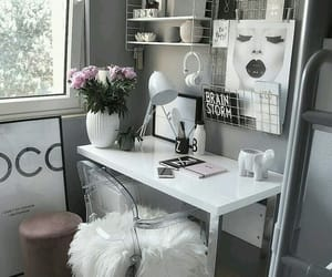 decor, home, and flowers image