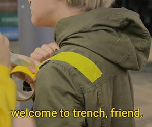top, trench, and clique image