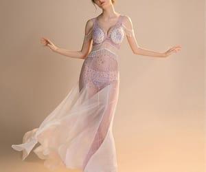 evening dress, evening dresses, and summer dress image