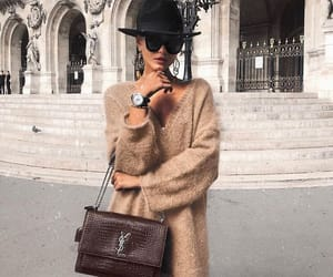 fashion, jumper, and girl vuitton image