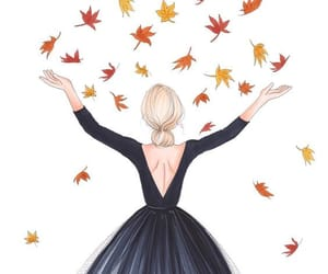 autumn, draw, and drawing image