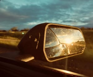 reflection, Road Trip, and skyline image