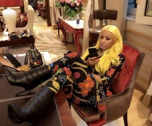 Versace, nicki minaj, and haïr image