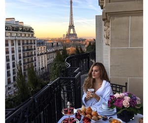 paris, breakfast, and luxury image