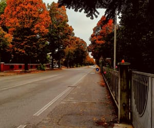autumn, city, and clouds image