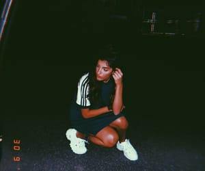 adidas, Fila, and girls image