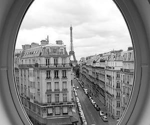 paris, window, and france image