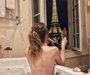 bath, paris, and relax image