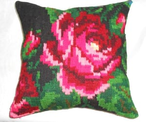 etsy, floral pillow, and pillow covers image