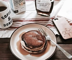 food, breakfast, and pancakes image
