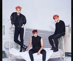 orange hair, red hair, and shin hoseok image