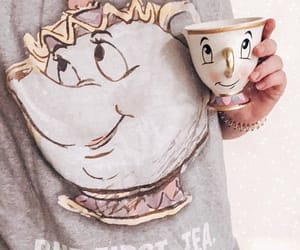 beauty and the beast, chip, and cozy image