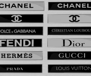 chanel, dior, and gucci image