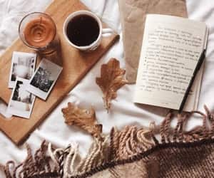 aesthetic, autumn, and writing image