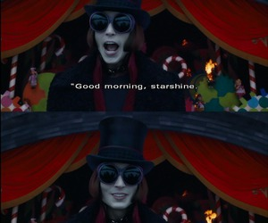 johnny depp, charlie and the chocolate factory, and Willy Wonka image