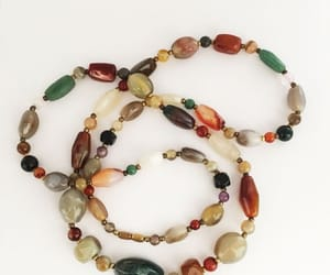 bead necklace, etsy, and gift for her image