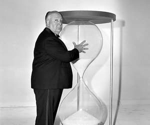 alfred hitchcock and vintage image