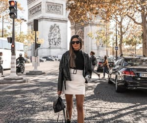 arc de triomphe, chloé, and blogger image