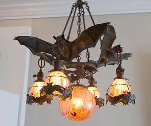 light, Halloween, and bat image