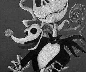 jack skellington, tim burton, and Halloween image