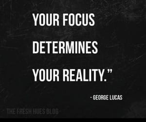 quote, focus, and reality image