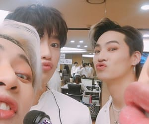 JB, jinyoung, and mark image