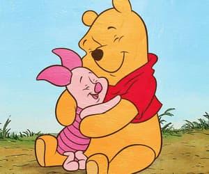 disney, piglet, and winnie the pooh image