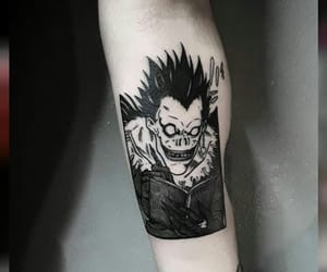 dark, death note, and ryuk image