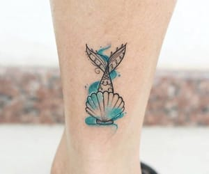 tattoo, shell, and mar image