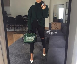 fashion style, sac bag bags, and winter hiver look image