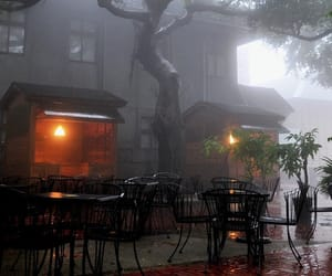 autumn, cafe, and helloween image