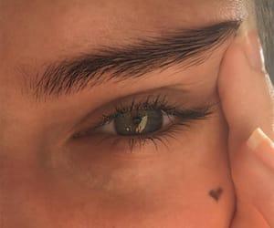 eyes, eye, and heart image
