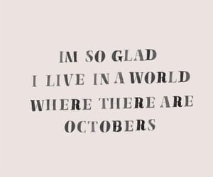 quotes, fall, and october image