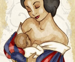 baby, disney, and mother image